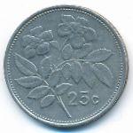 Мальта, 25 центов (1998 г.)