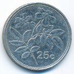 Мальта, 25 центов (2005 г.)