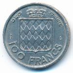 Монако, 100 франков (1956 г.)