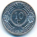 Антильские острова, 10 центов (1998 г.)