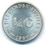 Антильские острова, 1/4 гульдена (1967 г.)