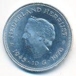 Нидерланды, 10 гульденов (1970 г.)