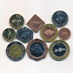 Кабинда, Набор монет