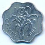 Свазиленд, 10 центов (2007 г.)