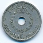 Норвегия, 1 крона (1938 г.)