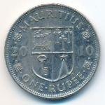 Маврикий, 1 рупия (2010 г.)