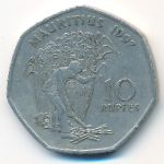 Маврикий, 10 рупий (1997 г.)