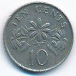 Сингапур, 10 центов (1989 г.)