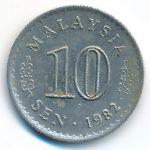 Малайзия, 10 сен (1982 г.)