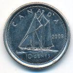 Канада, 10 центов (2009 г.)