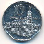 Куба, 10 сентаво (2009 г.)