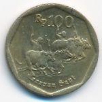 Индонезия, 100 рупий (1991 г.)