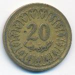 Тунис, 20 миллим (1960 г.)