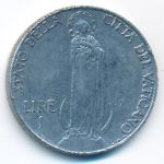 Ватикан, 1 лира (1940 г.)