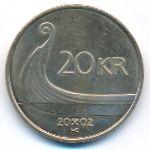 Норвегия, 20 крон (2002 г.)