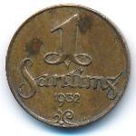 Латвия, 1 сантим (1932 г.)