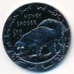 Сьерра-Леоне, 10 долларов (2008 г.)