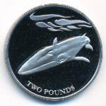 Южная Джорджия и Южные Сэндвичевы острова, 2 фунта (2021 г.)