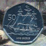 Британская Антарктика, 50 пенсов (2020 г.)
