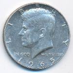 США, 1/2 доллара (1965 г.)