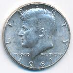 США, 1/2 доллара (1967 г.)