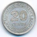 Малайя, 20 центов (1939 г.)