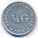 Антильские острова, 1/4 гульдена (1956 г.)