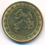 Монако, 10 евроцентов (2001 г.)