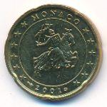 Монако, 20 евроцентов (2001 г.)