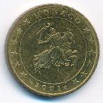 Монако, 50 евроцентов (2001 г.)