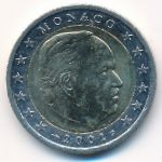 Монако, 2 евро (2001 г.)