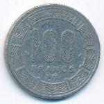 Центральная Африка, 100 франков (1978 г.)