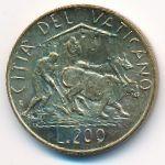 Ватикан, 200 лир (1982 г.)
