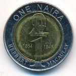 Нигерия, 1 найра (2006 г.)