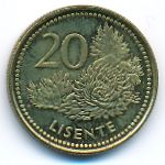Лесото, 20 лисенте (1998 г.)