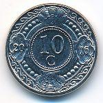 Антильские острова, 10 центов (2016 г.)