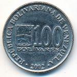 Венесуэла, 100 боливар (2002 г.)