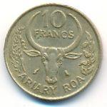 Мадагаскар, 10 франков (1989 г.)