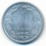 Центральная Африка, 1 франк (1974 г.)