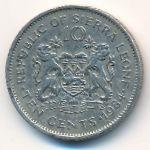 Сьерра-Леоне, 10 центов (1984 г.)