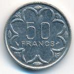 Центральная Африка, 50 франков (1998 г.)