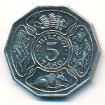Танзания, 5 шиллингов (1987 г.)