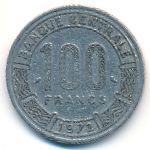 Камерун, 100 франков (1971–1972 г.)