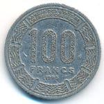 Центральная Африка, 100 франков (1980 г.)