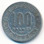 Чад, 100 франков (1990 г.)