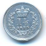Великобритания, 1 1/2 пенса (1835 г.)