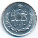 Иран, 10 риалов (1975 г.)