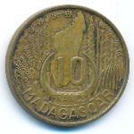 Мадагаскар, 10 франков (1953 г.)