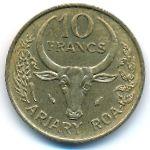 Мадагаскар, 10 франков (1982 г.)