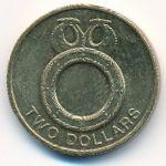 Соломоновы острова, 2 доллара (2012 г.)